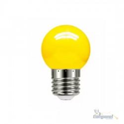 Lâmpada LED Bolinha 1W 127V E27 Amarela